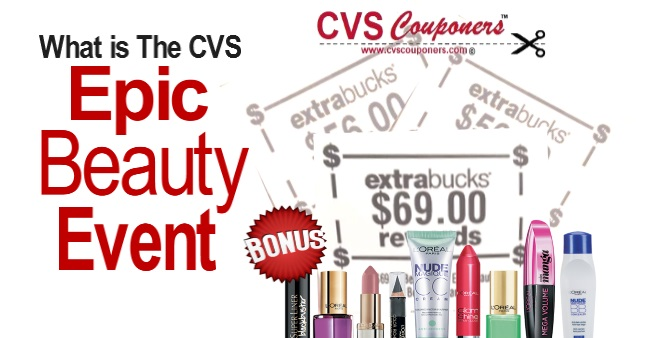 Epic Beauty Event at CVS What is it