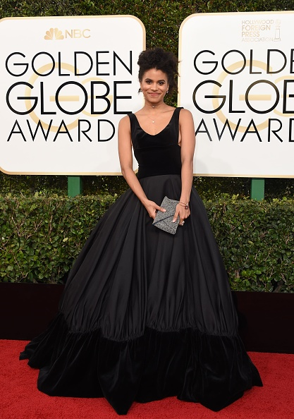Zazie Beetz Golden Globe 2017