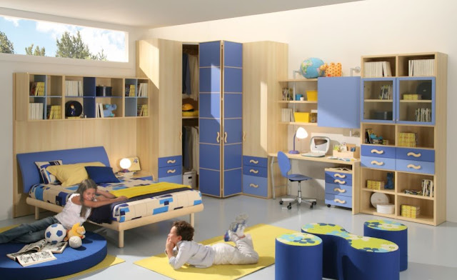 phòng ngủ bé trai - mẫu 15