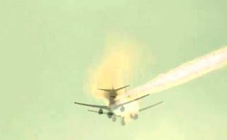 avião no Egito