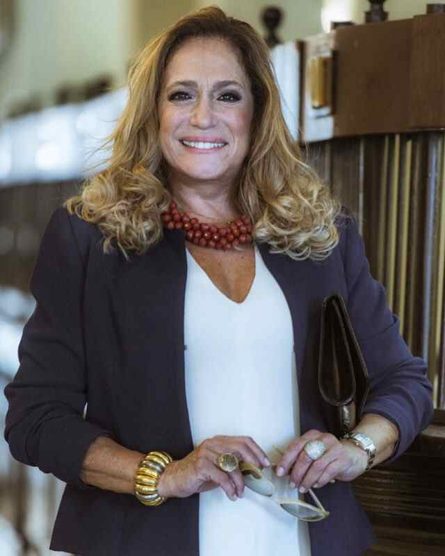 Atriz Susana Vieira foi internada no CTI.