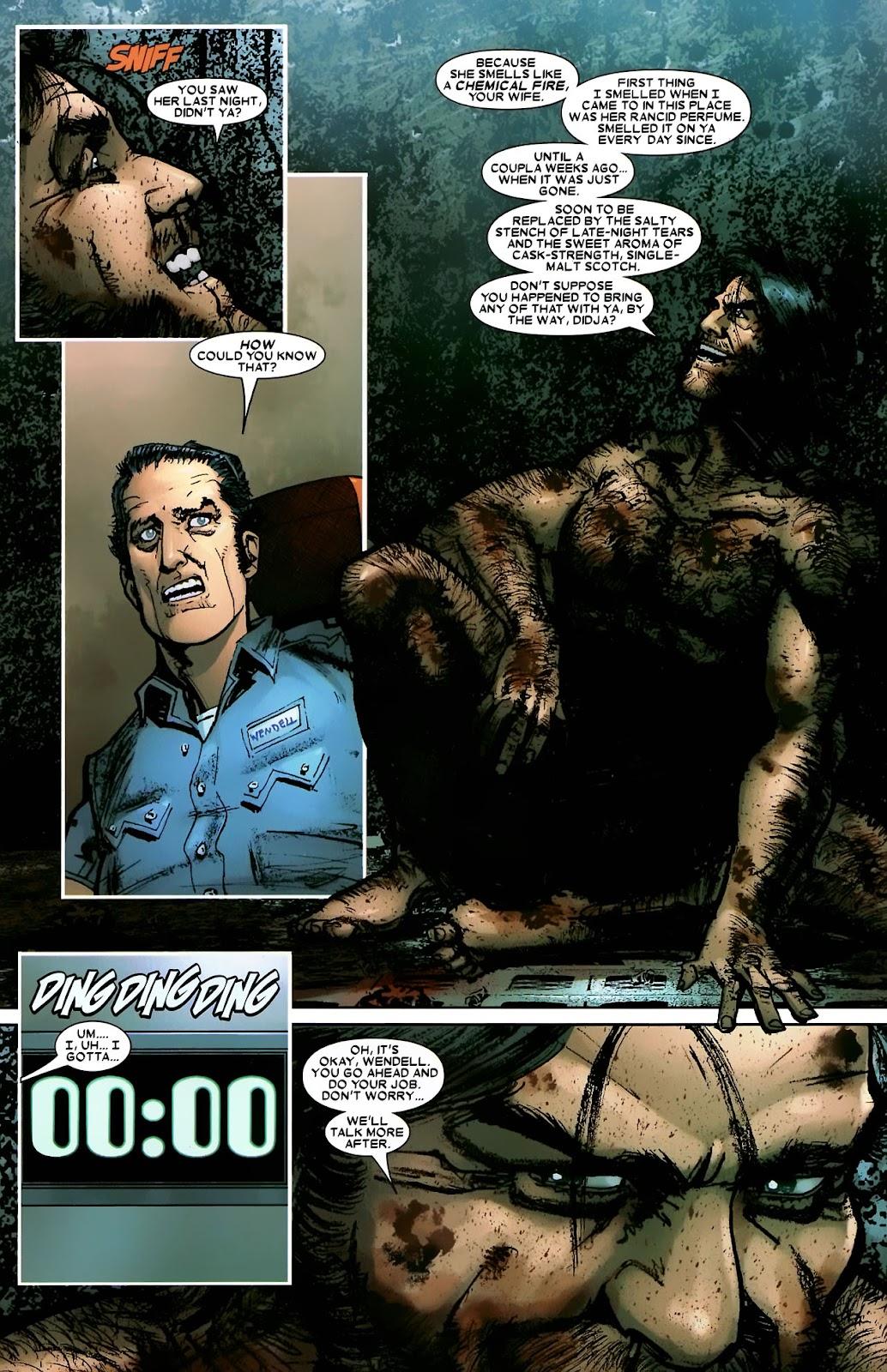 Read online Wolverine (2003) comic -  Issue #56 - 16