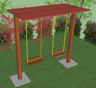 Cara Membuat Ayunan di Taman dengan Mudah