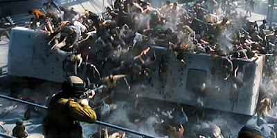World War Z - zombie crowd