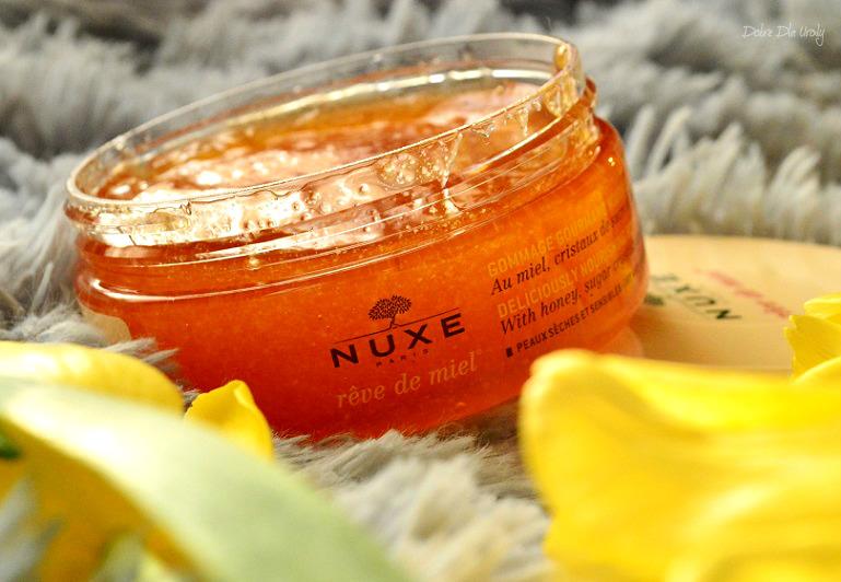 Nuxe Odżywczy Peeling do ciała Rêve de Miel recenzja