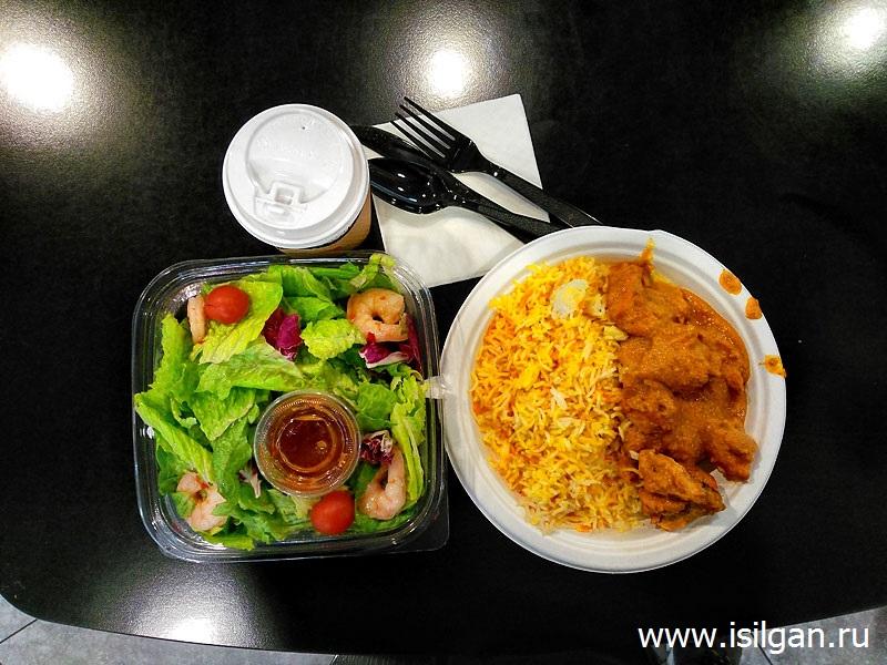Бесплатный ужин в аэропорту Абу-Даби. Задержка рейса на 6 часов. Объединенные Арабские Эмираты