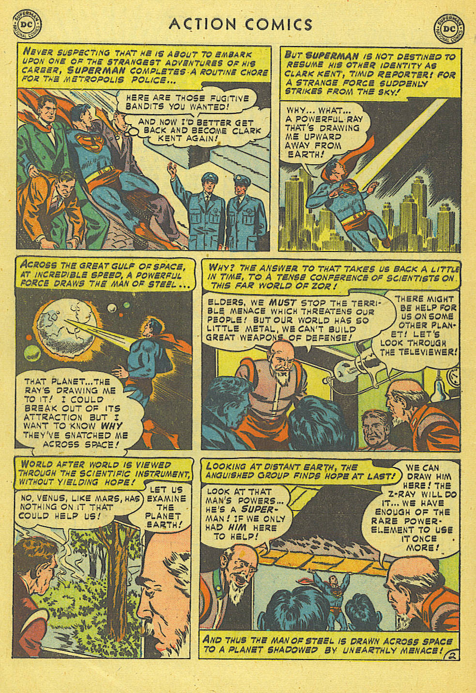 Read online Action Comics (1938) comic -  Issue #168 - 3