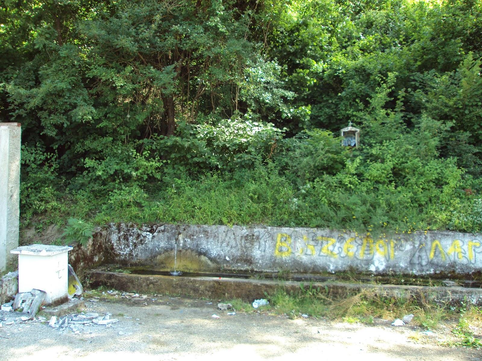 Βανδααλισμοί στην Αμμουδάρα (φωτογραφίες)
