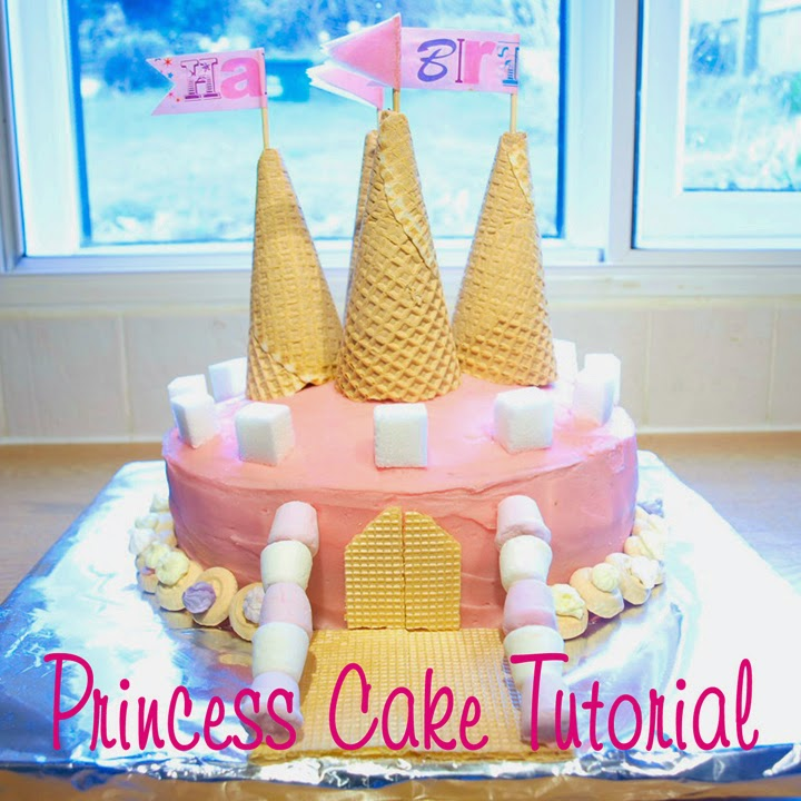 Princess Cake Tutorial by Sprout's House
