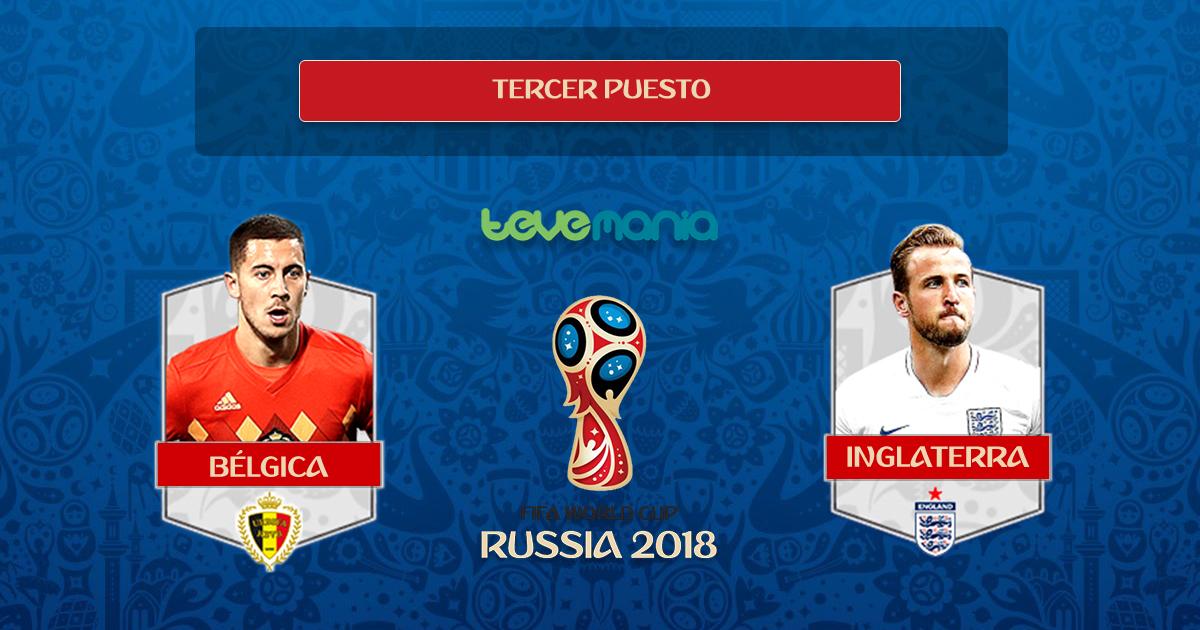 Bélgica se queda con la medalla de bronce en el Mundial Rusia 2018