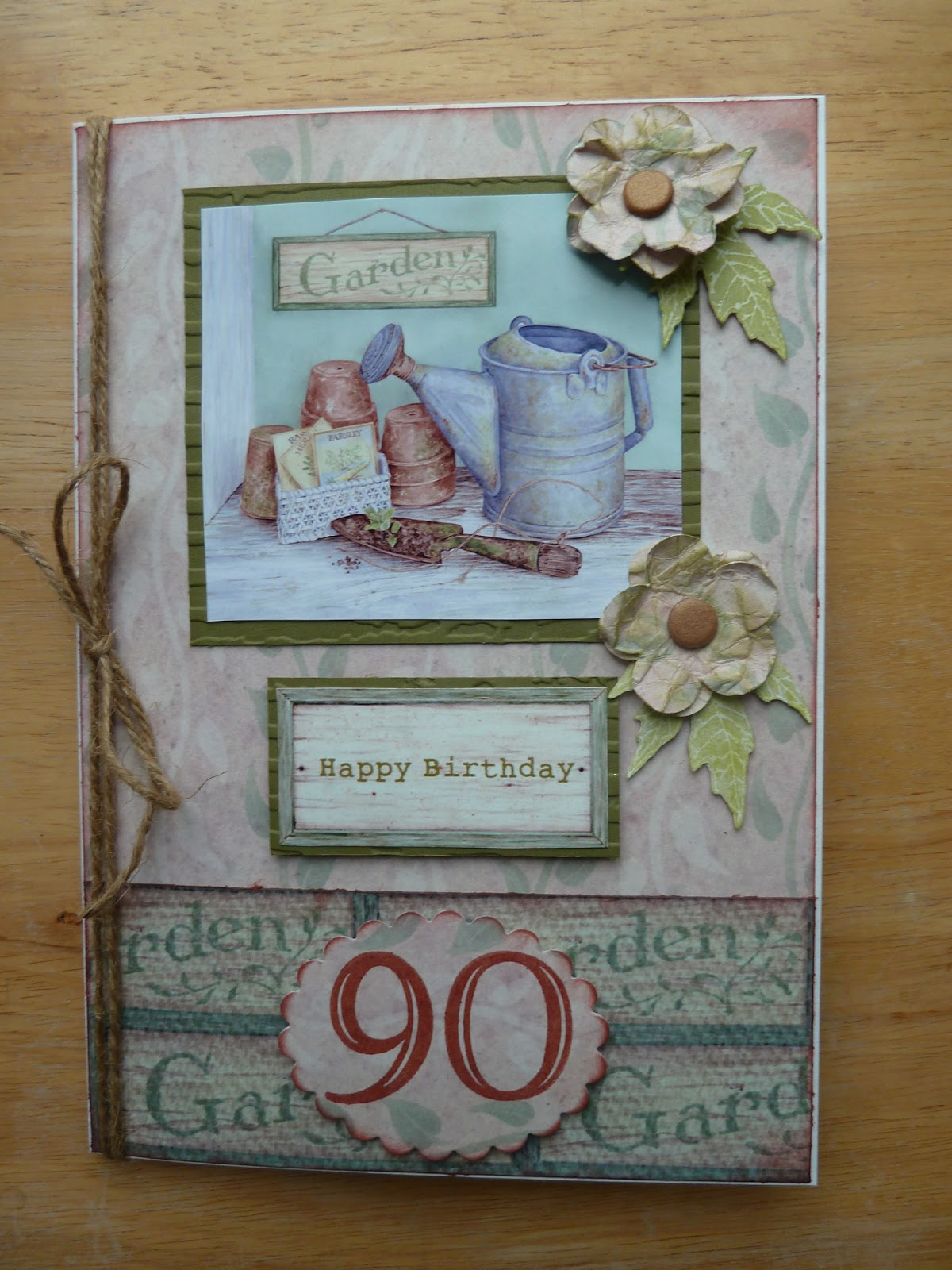 90th Birthday Card A For 90 Year Old Man
