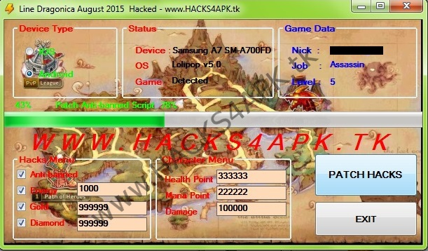 Line Dragonica HACK 2016 - Free Diamonds | Android IOS games HACK