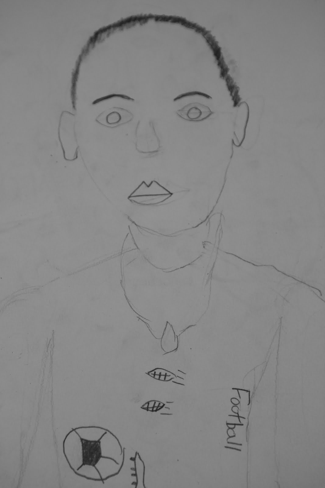 Artists For Kids: Forth Grade Portrait Drawings: Part 1 and 2