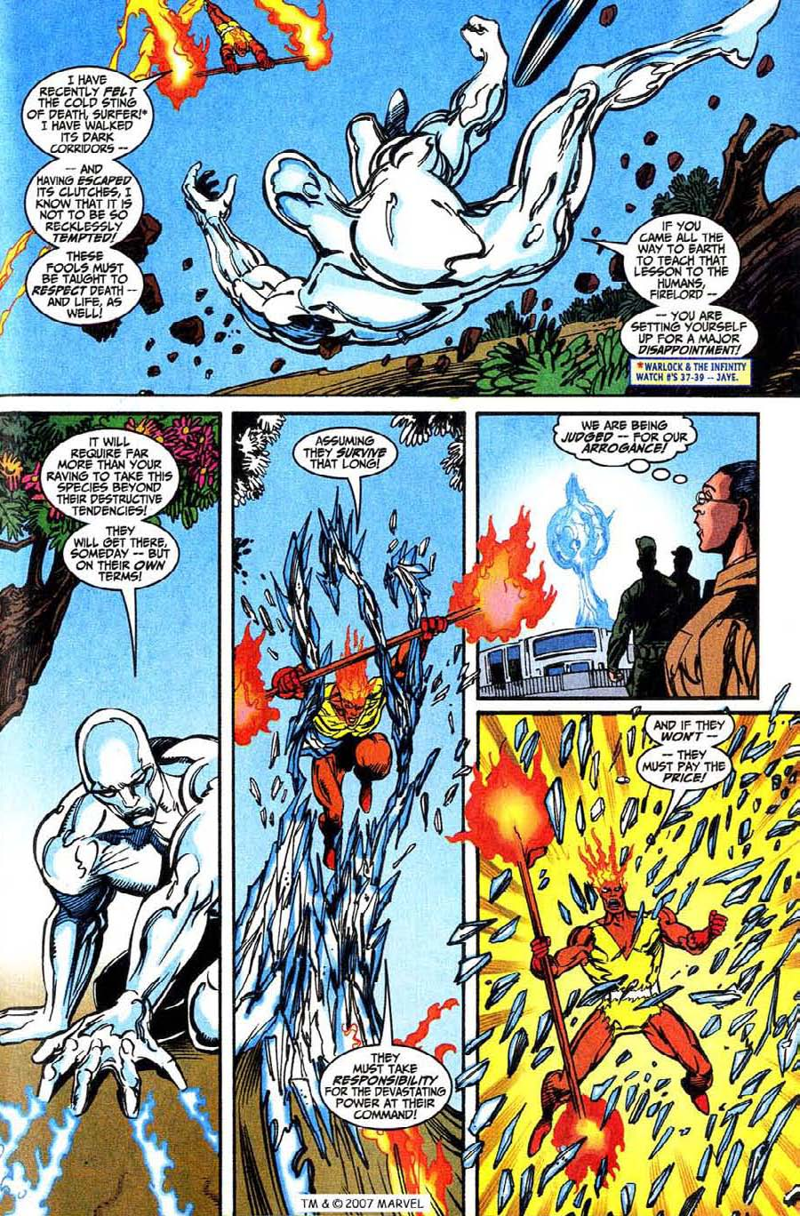 Read online Silver Surfer (1987) comic -  Issue #146 - 23