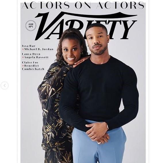 Black Panther star Michael B Jordan and actress Issa Rae cover 'Variety Magazine  (Photos)