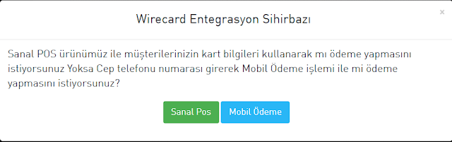 wirecard kurulumu