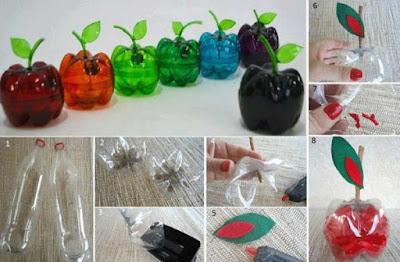 souvenir monedero con botella de plastico reciclada