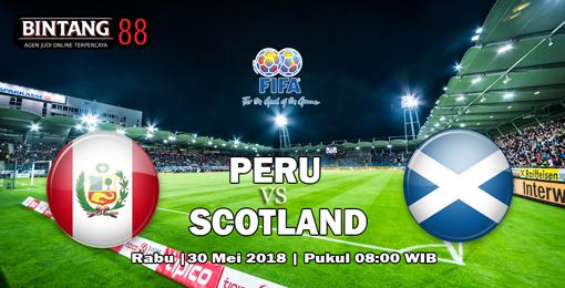 Prediksi Peru Vs Skotlandia 30 Mei 2018