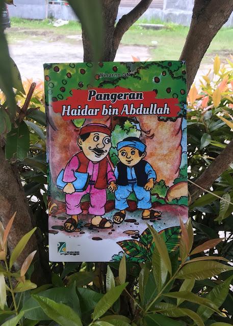 "Buku cerita ""Pangeran Haidar bin Abdullah"""