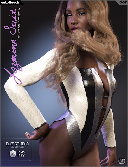 Jazmine Suit for Genesis 3 Female