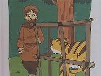 Dongeng Anak Kisah Harimau, Petapa, dan Anjing Hutan yang cerdik