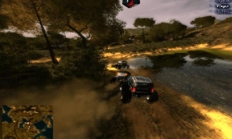 تحميل لعبة big truck 4x4 challenge