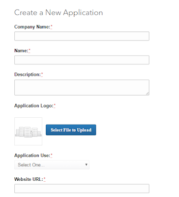 create LinkedIn developer app form