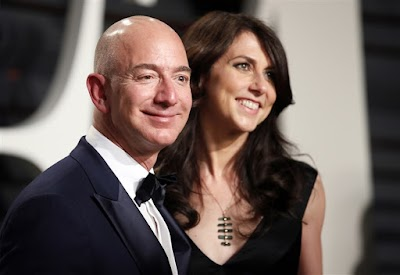 Amazon Boss, Jeff Bezos And Wife To Divorce With $137 Billion On The Line
