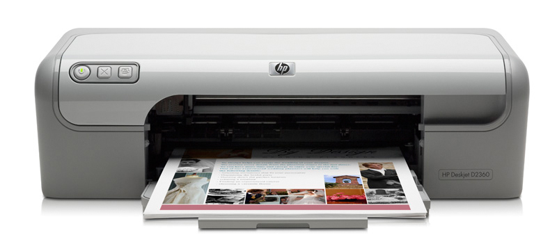 Hp deskjet d2360 printer colour ink-jet legal, a4-1200 dpi.