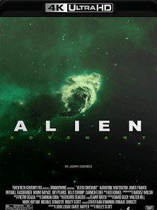 Alien – Covenant 2017 Torrent Download – BluRay 4K 2160p 5.1 Dublado / Dual Áudio