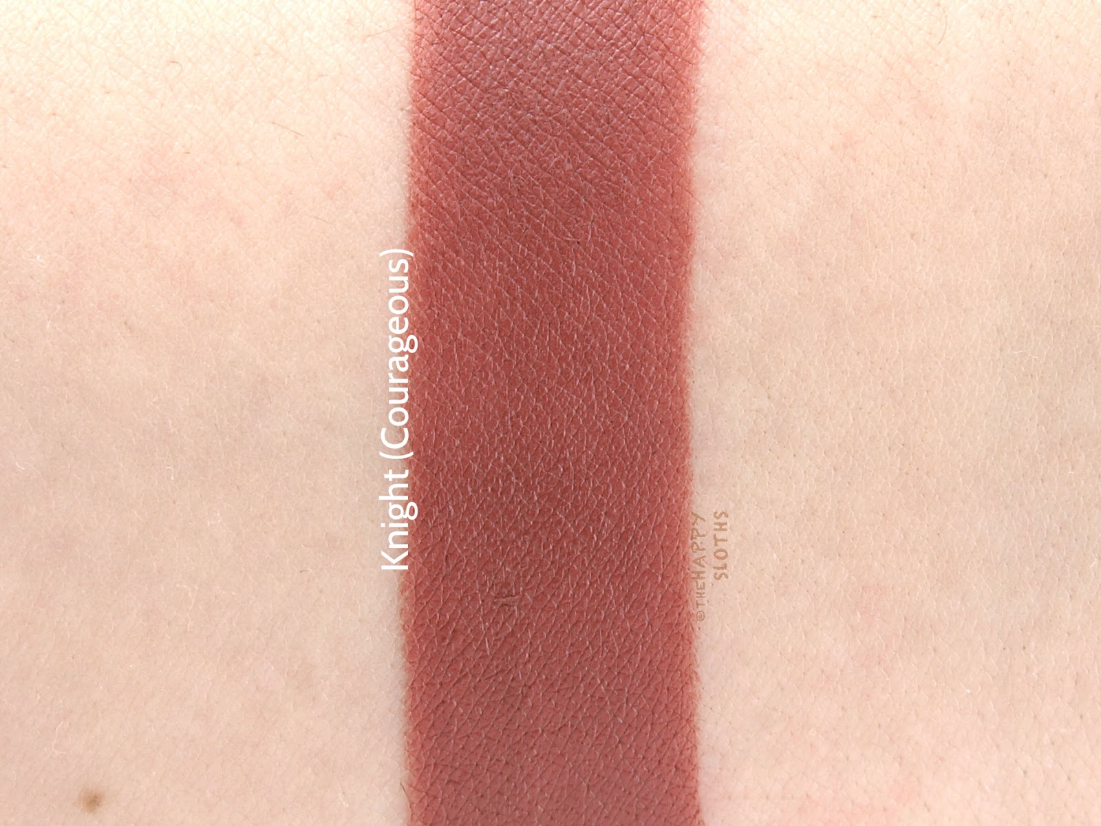 "Lipstick Queen Lipstick Chess in ""Knight"": Review and Swatches"
