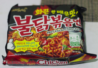 Sebungkus Samyang Ramen Hot Chicken