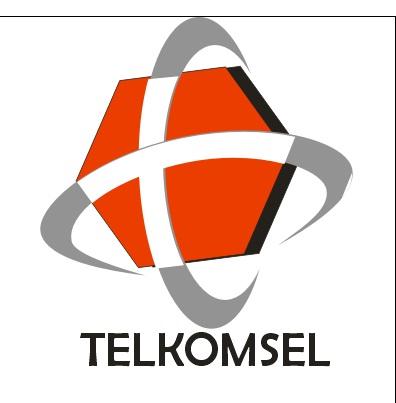 LISA FITRI: Corel Draw (Logo Telkomsel)