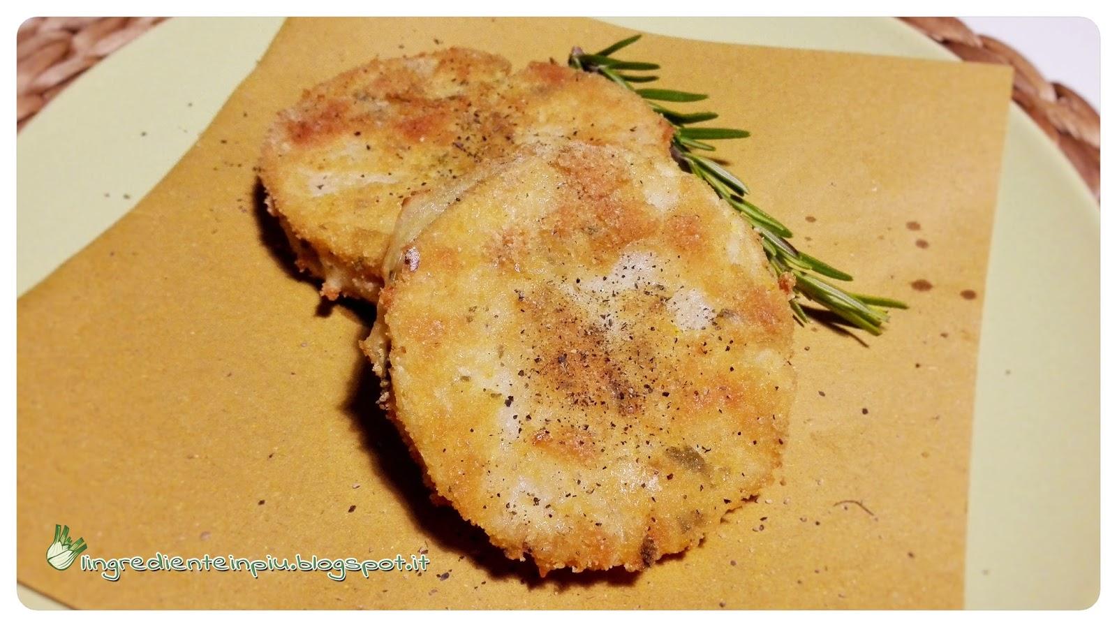 L'ingrediente in più : Cordon bleu di sedano rapa al rosmarino ...