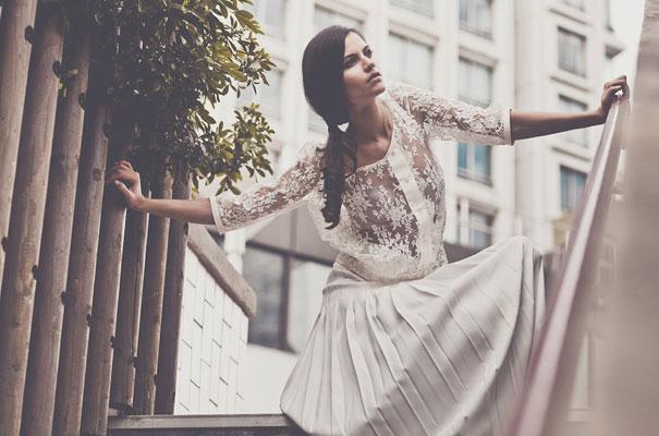 Non Traditional Wedding Dress Boho: Laure De Sagazan Bridal