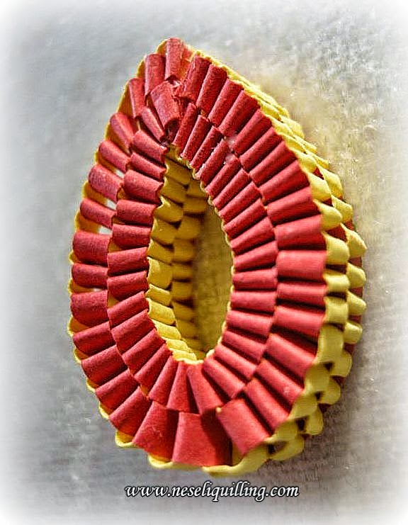 quilling weaving technique