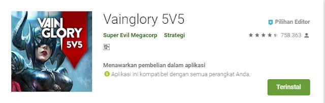 Game Strategi Moba Android Terbaik Vainglory