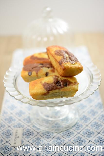 Blog di cucina di Aria: Mini plumcake yogurt e cacao