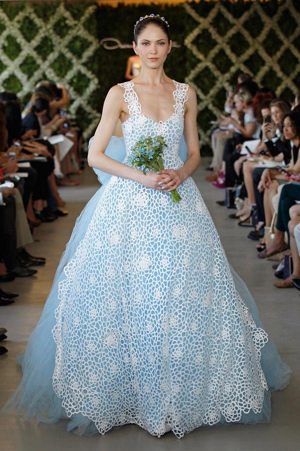 Oscar de la Renta Bridal Spring 2013 Wedding Dresses | plumede