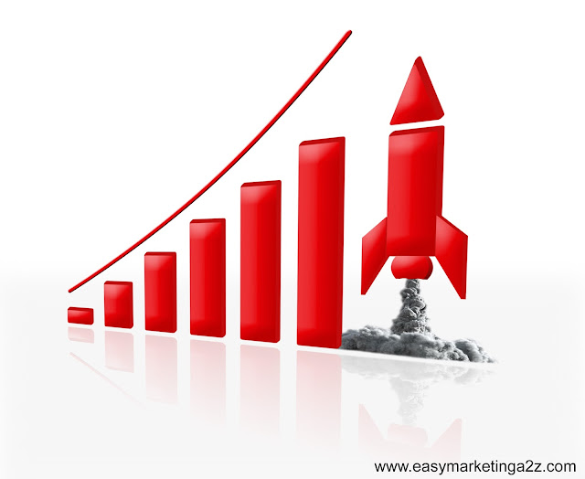 Growth Graph Picture  3d 11