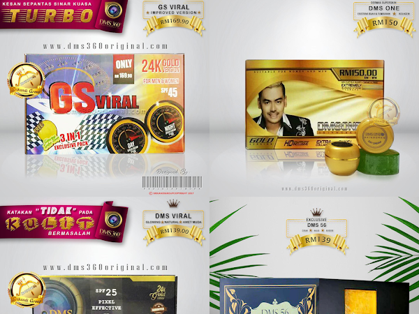 Produk Kecantikan DMS beserta Harga by DermaxSuperskin 360 (DMS360)