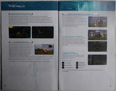 Final Fantasy XIII - Manual interior