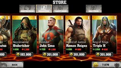 WWE Immortals v1.6.0 Apk + Data + MOD (Unlimited Money/Energy)
