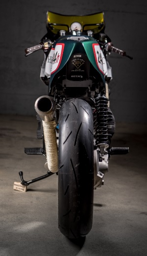 BMW K100 By VTR Customs Hell Kustom