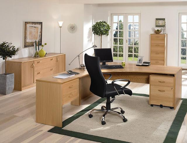 best buy oak home office furniture Abu Dhabi for sale online