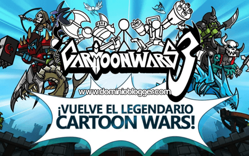 juego Cartoon Wars 3 gratis