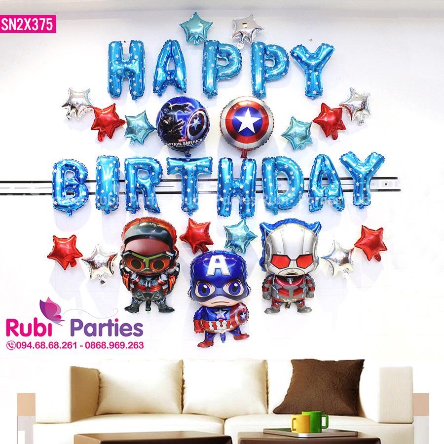Bong trang trí sinh nhật cho bé ở Vĩnh Hưng