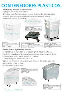 Contenedores Plasticos Alimentarios.