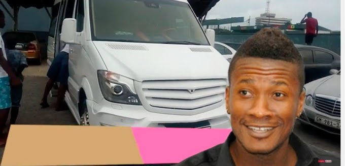 Gold seats, a bar and more. See inside Asamoah Gyan's customized Mercedes-Benz bus