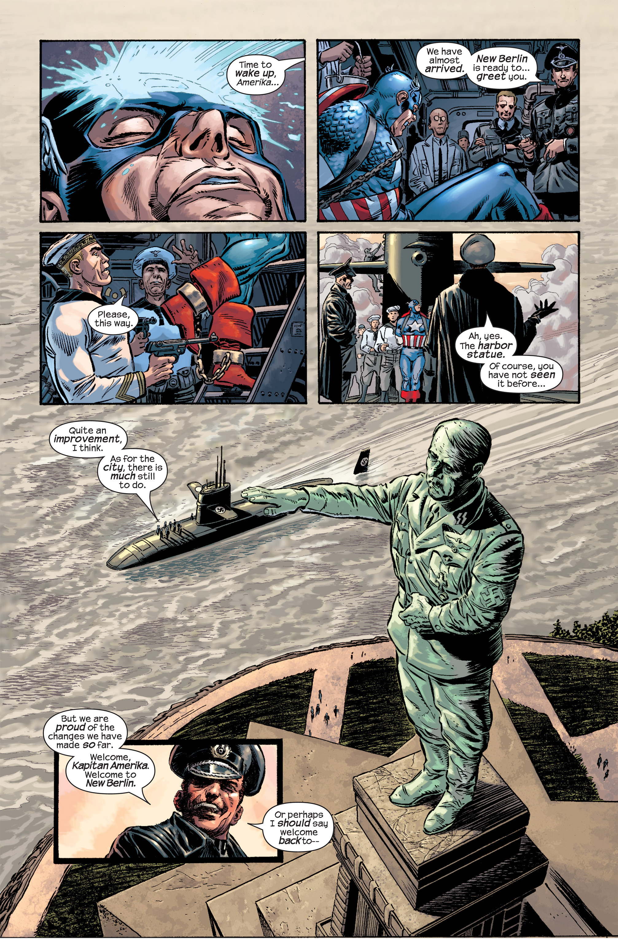 Captain America (2002) Issue #17 #18 - English 13